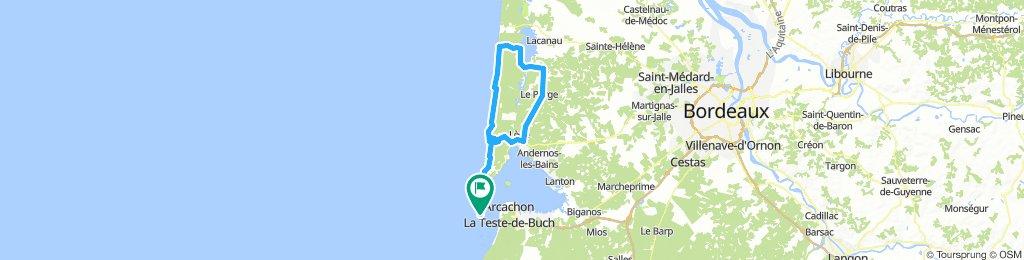 Tour Cap Ferret - Sud Lacanau