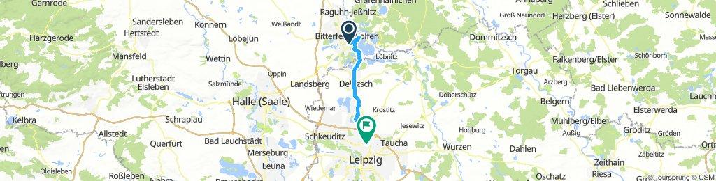Bitterfeld - Leipzig 04.08.2018