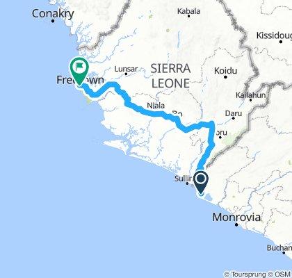16 Sierra Leone