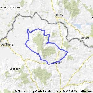 Wüdü-Falkenstein-Poysdorf-Neudorf-Wüdü