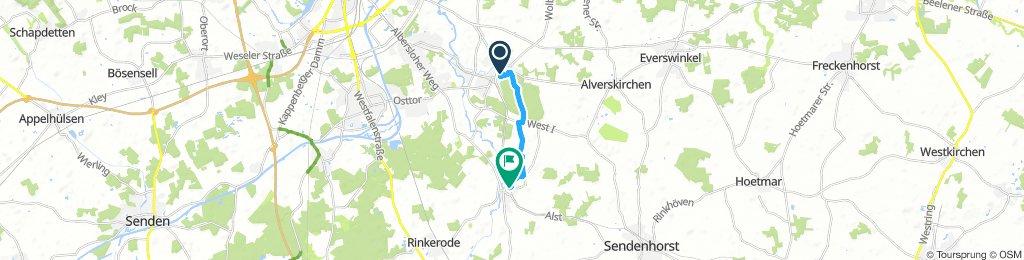 Samstag Route Geschermann