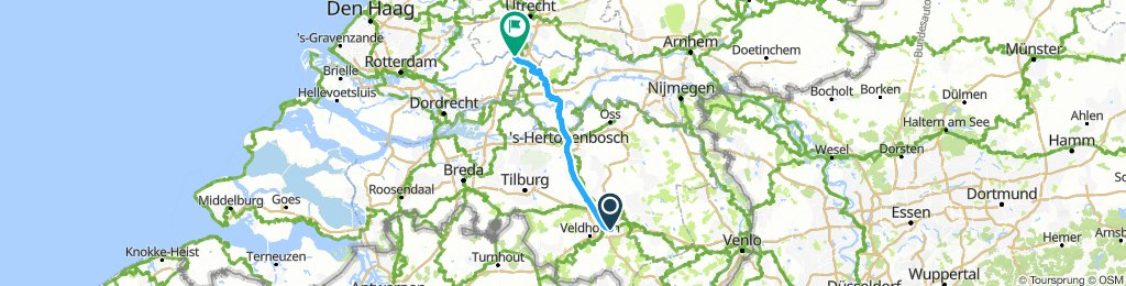 Eindhoven to lexmond