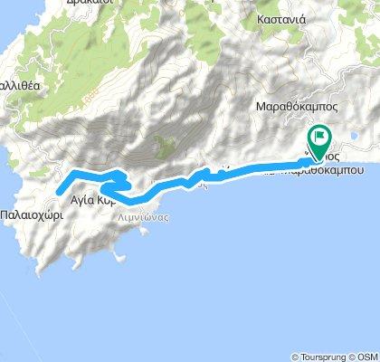 Samos Süd-Westküste entlang
