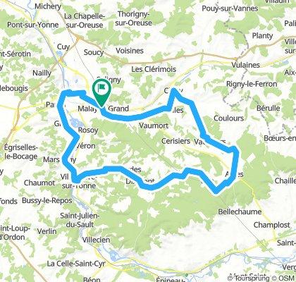Sens - Vaudeurs - Villeneuve - Sens