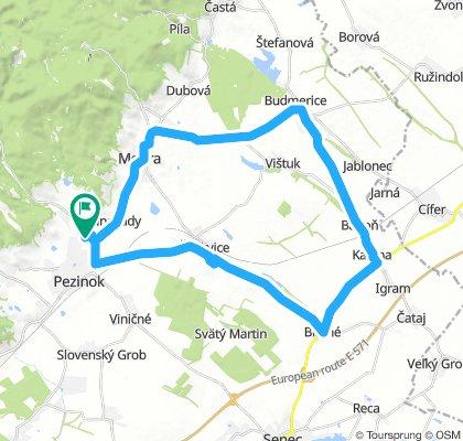 Long Morning Ride In Pezinok