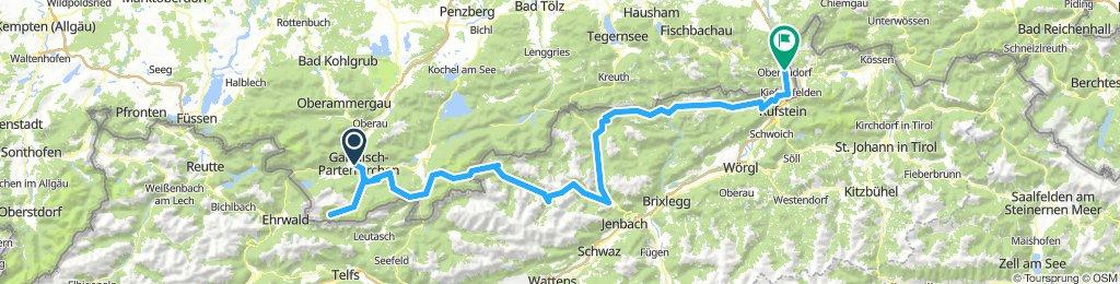 Mini-Alpen-Abenteuer von Garmisch nach Oberaudorf