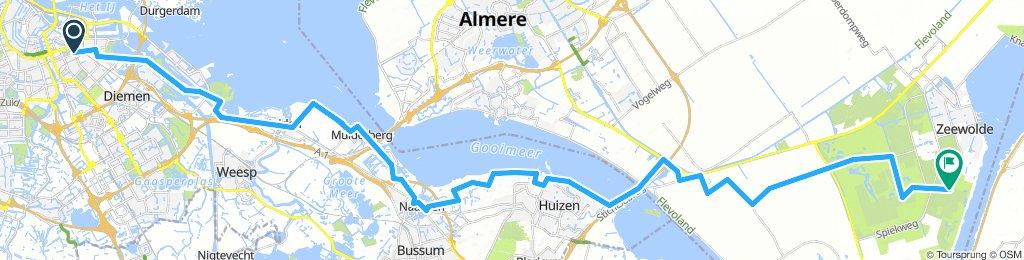 01. Amsterdam - Muiden - Naarden - Zeewolde