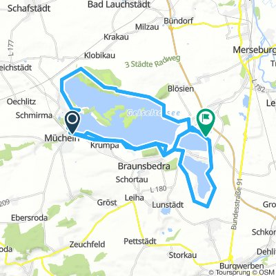 Geiseltalsee-Großkaynasee-Geiseltalsee