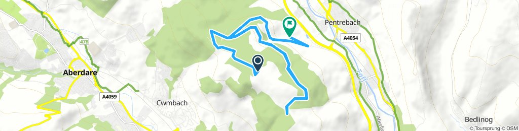 Easy Sunday Route In Mountain Ash