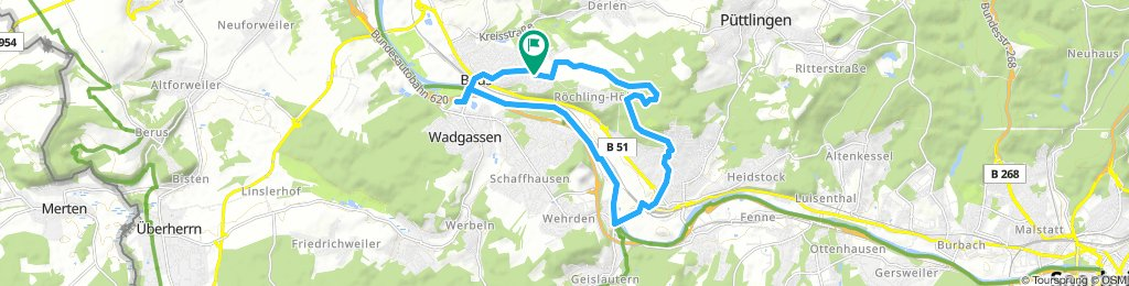 Relaxed Sonntag Route In Bous