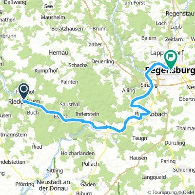 Riedenburg - Regensburg