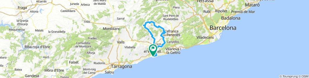 20180805 Sant Salvador-Pantà de Foix-Sant Martí-Mare de Déu de Foix-Pontons-La Juncosa-Sant Salvador