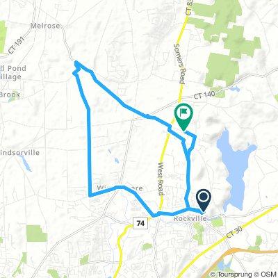 Ellington 12.4 mile loop