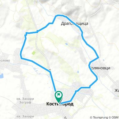 Костинброд-Драговищица-Шияковски манастир