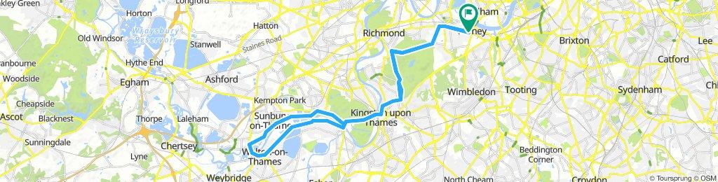 Putney shepperton loop