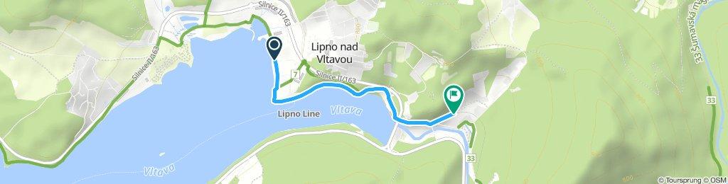 Lipno nádraží - Panorama
