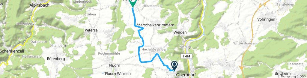 Obdf Lindenhof nach Dornhan
