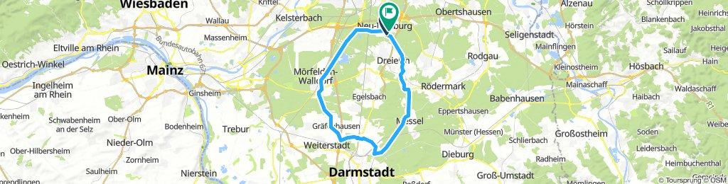 Neu-Isenburg / Darmstadt / Mörfelden - Runde