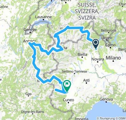 Giro in moto 2018