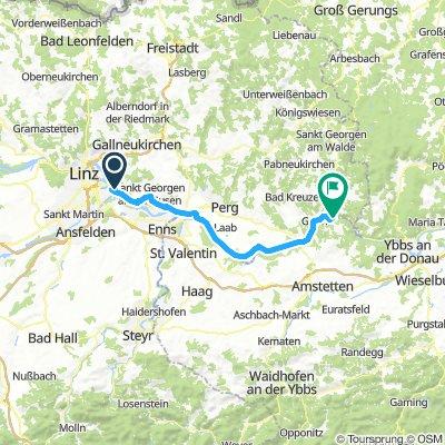 Day 1: Linz to Grein