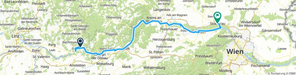 Day 2: Grein to Stockerau