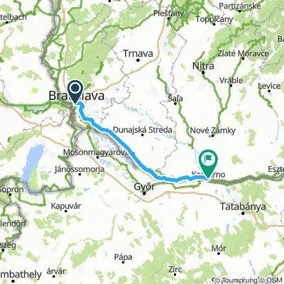 Day 4: Bratislava to Komarom