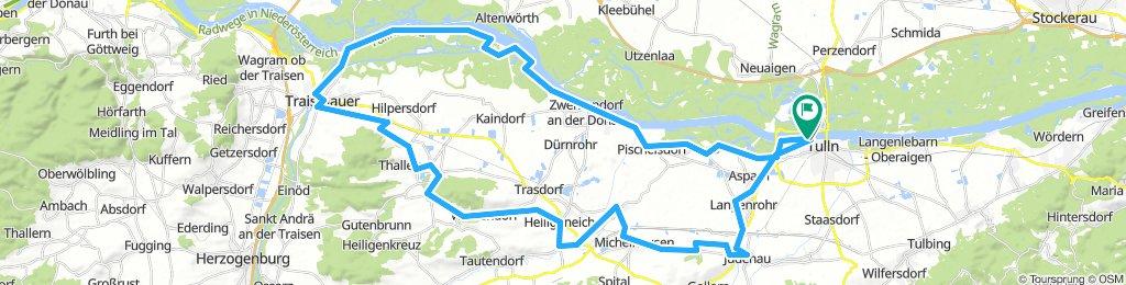 Tullnerfeld Radweg - Von Tulln nach Traismauer