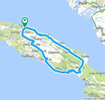 Trpanj - Trstenik - round route