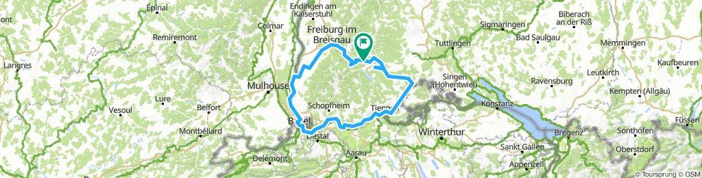 Südschwarzwald-Radweg