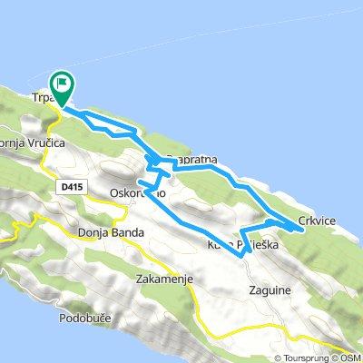 Trpanj - Kuna - round route