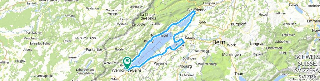 [Yverdon] Tour des 3 lacs