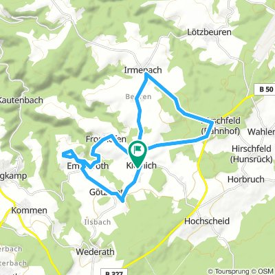 Spred Out Montag Ride In