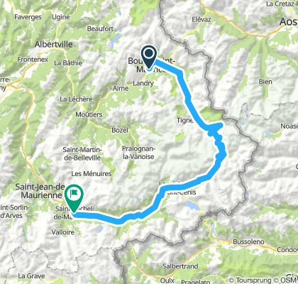 Etappe 2 - Route des grandes Alpes
