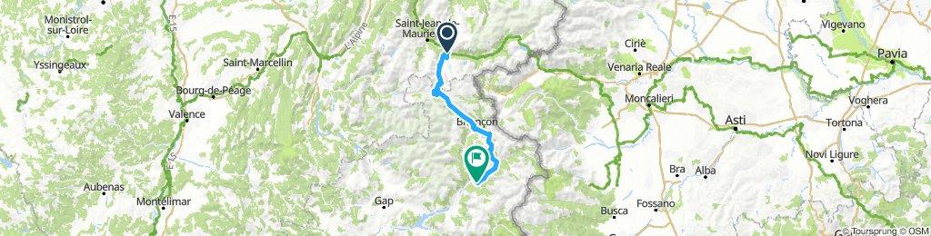 Etappe 3 - Route des grandes Alpes