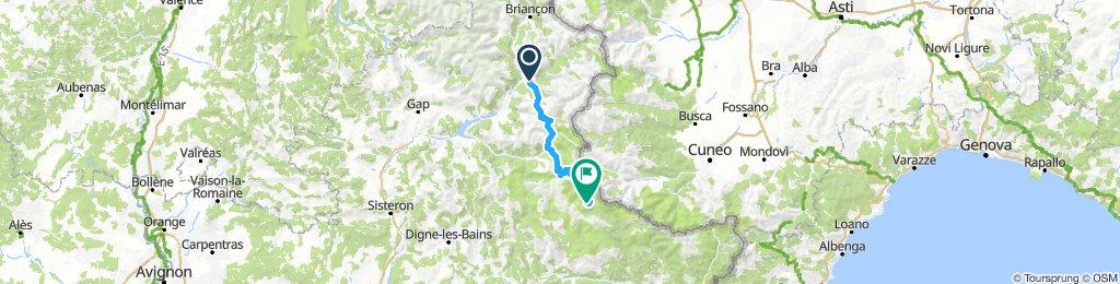 Etappe 4 - Route des grandes Alpes