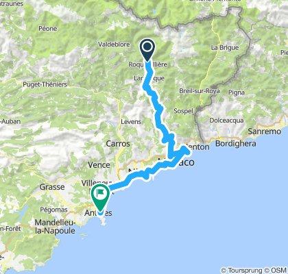 Etappe 6 - Route des grandes Alpes