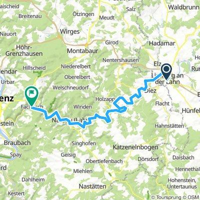 2018-1 Tour Limburg bis Fachbach