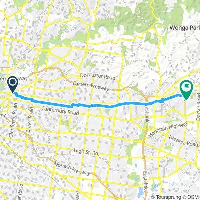 Kew and Rail Path Return