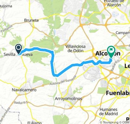 Sevilla la Nueva a Alcorcon