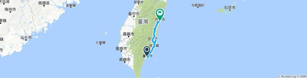 花東單車四日