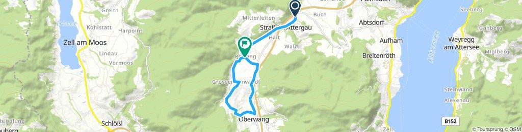 Attergau - R101 Tarockradweg Oberwang