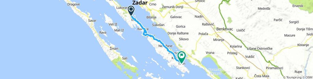 Zadar - Preko  - Tkon