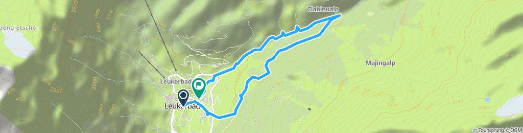 Extensive Dienstag Track In Leukerbad