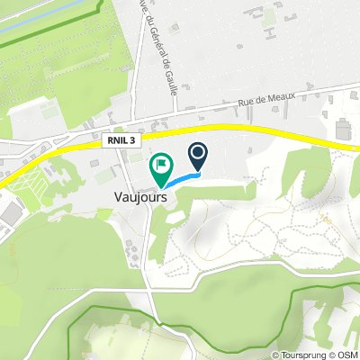 Short And Sweet Mardi Route In Vaujours