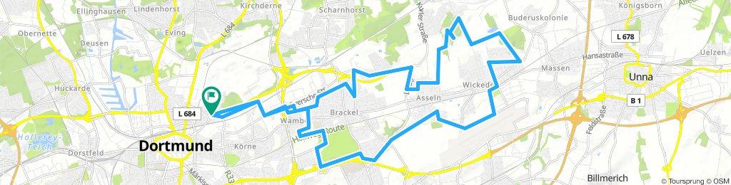 Borsigplatz - Stadtbezirk Brackel Rundtour