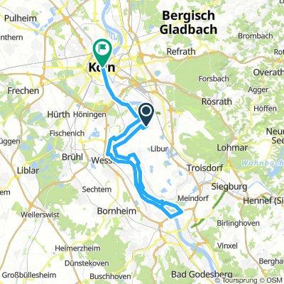 Porz - Bonn - Köln Rheintour