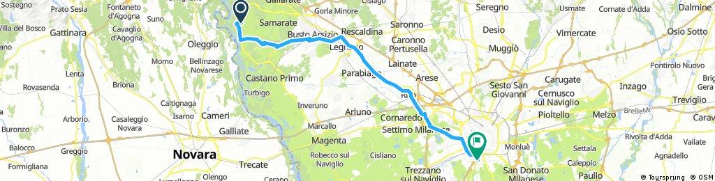 1) Malpensa - Milan