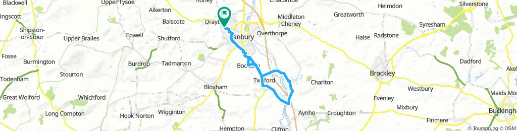 Easy Afternoon Route In Banbury