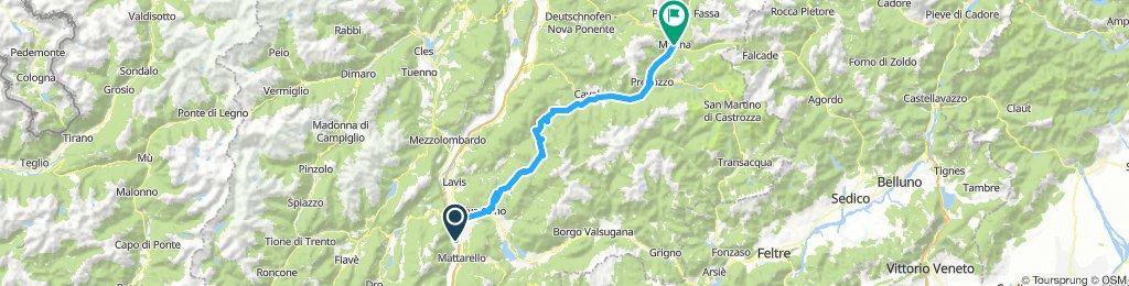 4) Trento - Moena
