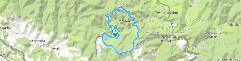 Dyst. Quarter- DARE2b MTB Maraton Piwniczna Zdrój 2018.